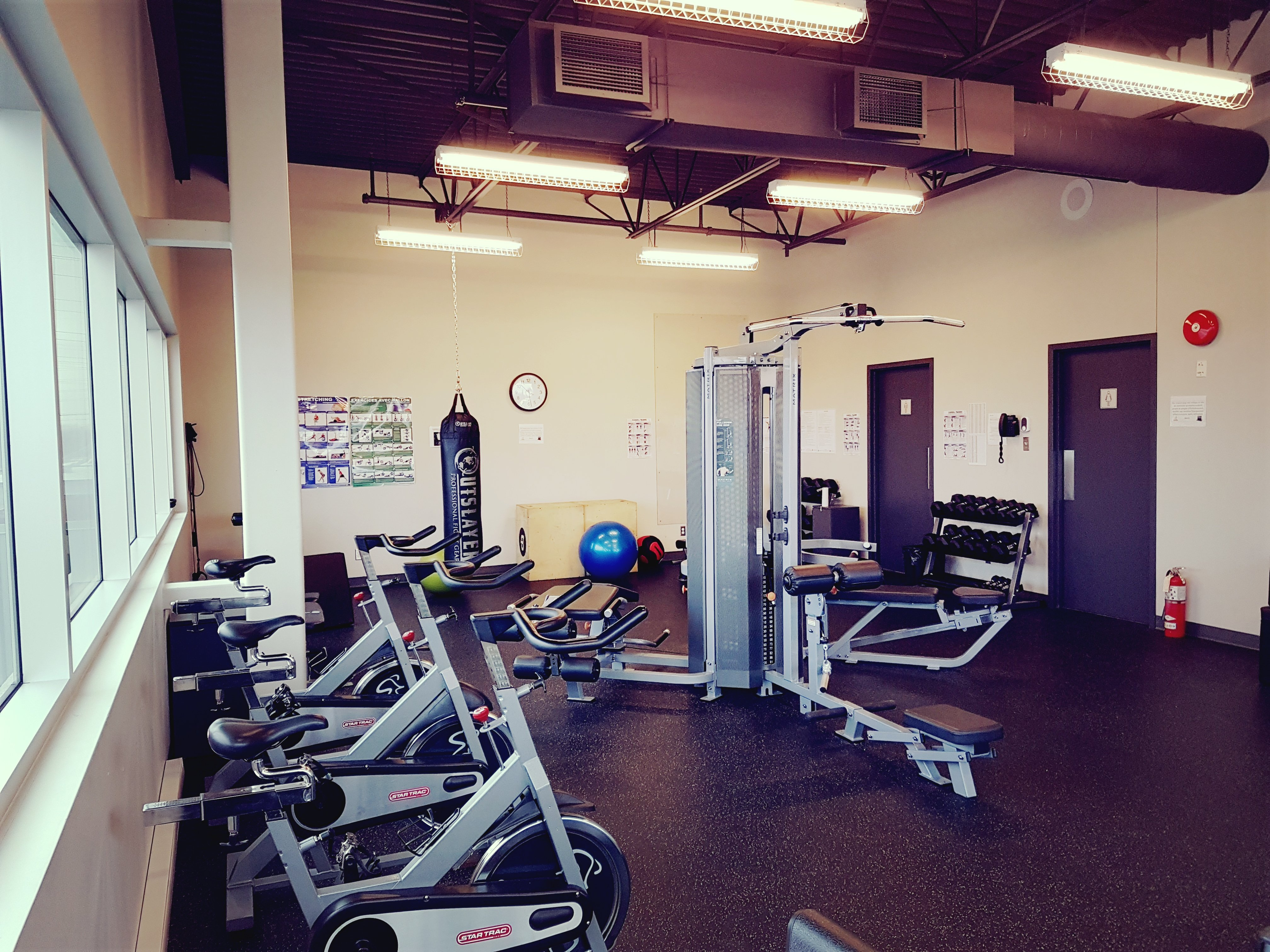Gym room dbm optix