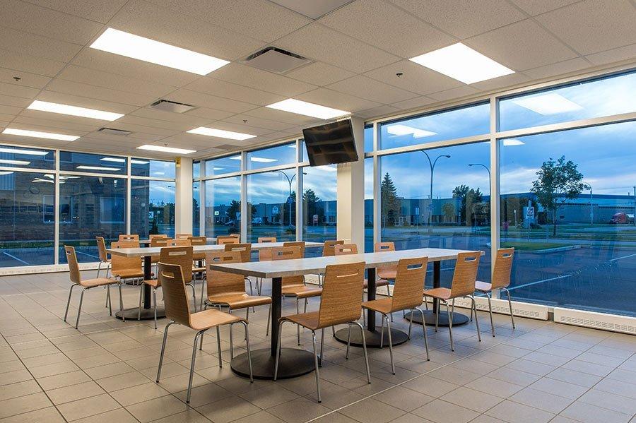 DBM Optix cafeteria